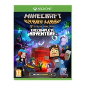 Minecraft Story Mode Complete Adventure Xbox One Game