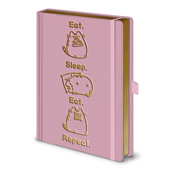 Pusheen - Eat. Sleep. Eat. Repeat. Notebook