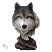 Noble Wolf Bust
