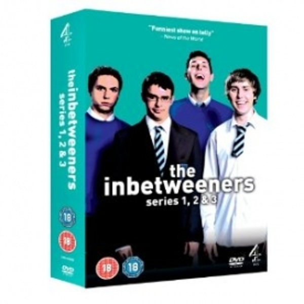 The Inbetweeners Series 1-3 DVD Box Set