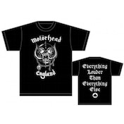 Motorhead England Mens T Shirt: Medium