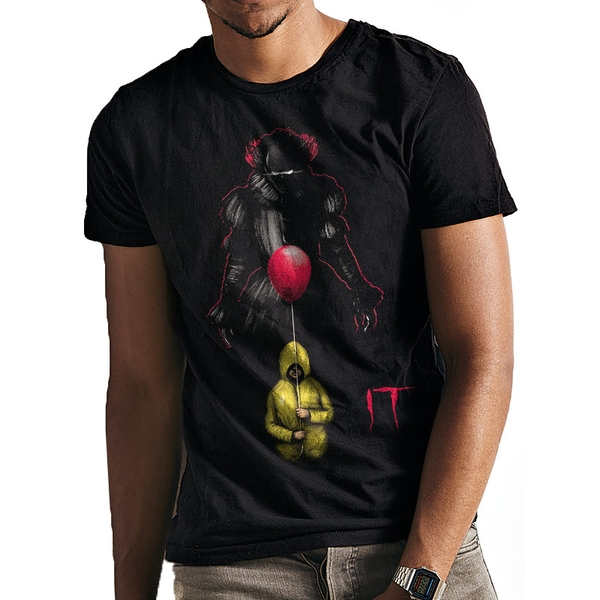 It - Lurking Clown Men's Medium T-Shirt - Black