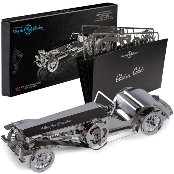 Time 4 Machine Glorious Cabrio 2 Wind-up 3D Mechanical Model Kit