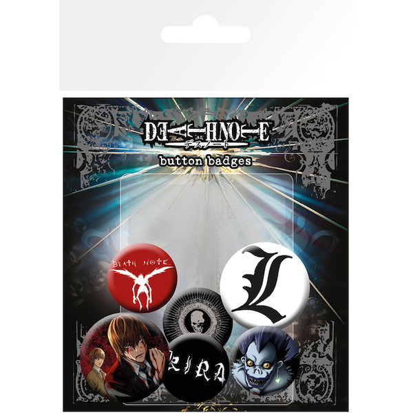 Death Note Mix Badge Pack