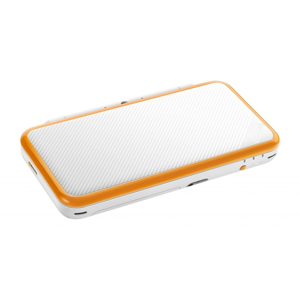 Nintendo 2DS XL Handheld Console White and Orange UK Plug - Image 4