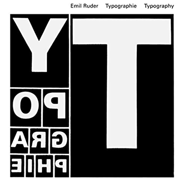 Typography: A Manual of Design by Emil Ruder (Hardback, 2001)
