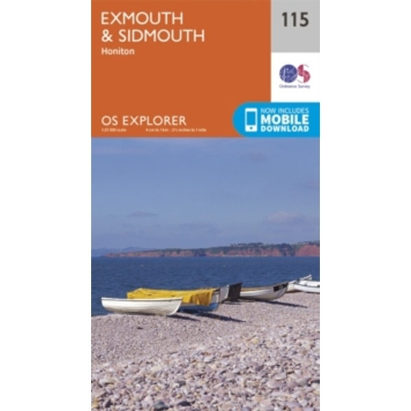 Exmouth and Sidmouth by Ordnance Survey (Sheet map, folded, 2015)