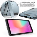 Huawei Honor View 10 Armour Combo Stand Case - Steel Blue