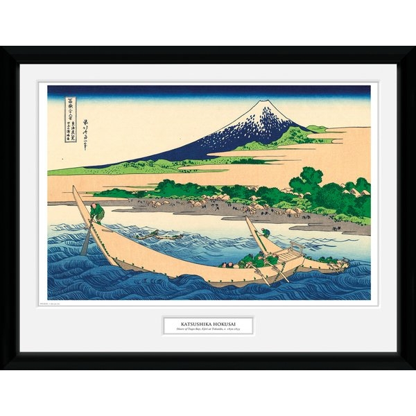 "Hokusai Shore of Tago Bay 12"" x 16"" Collector Print"