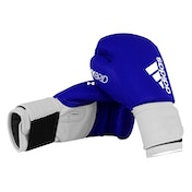 Adidas 100 Hybrid Boxing Gloves Blue - 8oz