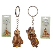 Fun Sloth Keyring (1 Random Supplied)