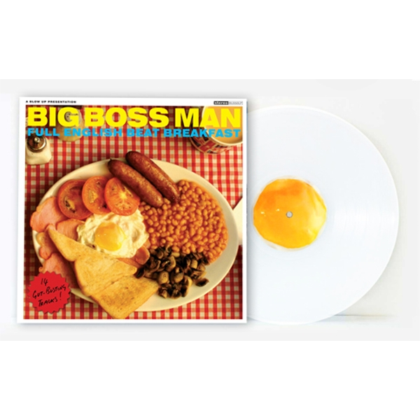 Big Boss Man ‎- Full English Beat Breakfast Limited Edition White Vinyl
