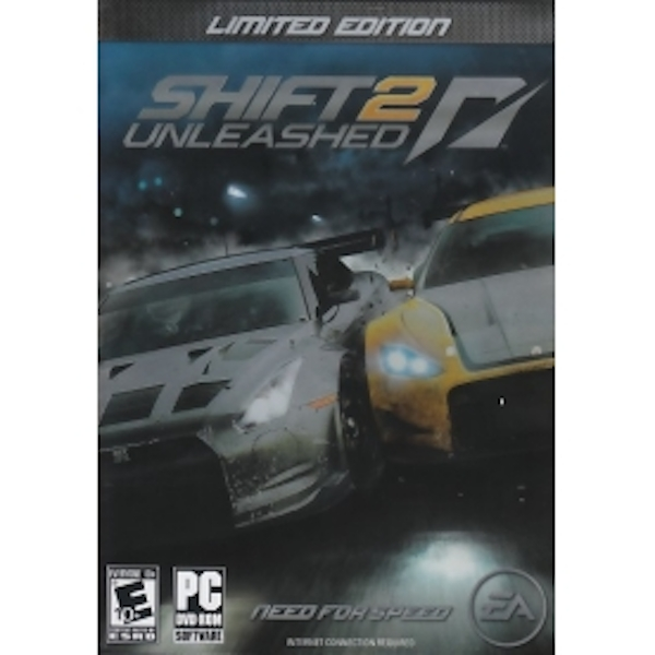 NFS Shift 2 Unleashed Limited Edition Game PC