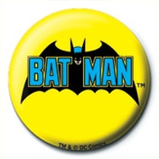 DC Comics - Batman Retro Logo Badge