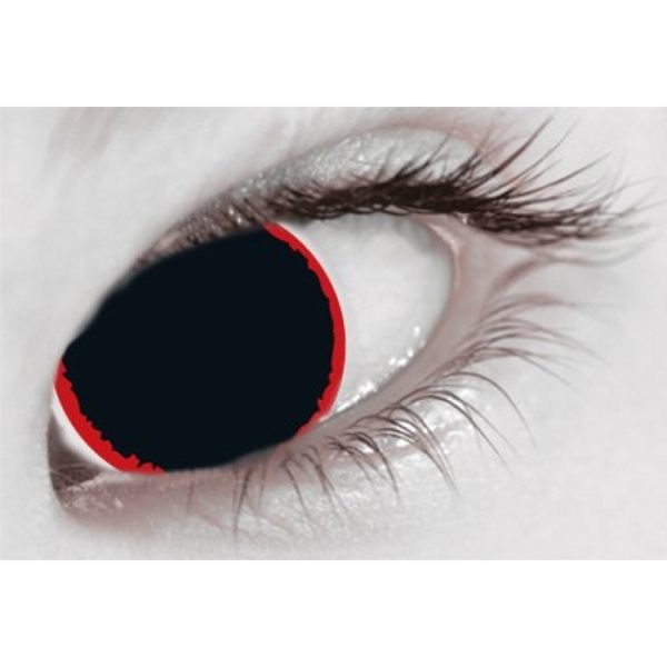 Hell Raiser 1 Day Halloween Coloured Contact Lenses (MesmerEyez XtremeEyez) - Image 2