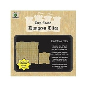 Dry Erase Dungeon Tiles: Earthstone Square Mixed Pack (16x5
