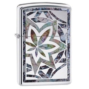 Zippo Fusion Leaf Chrome regular Windproof Lighter