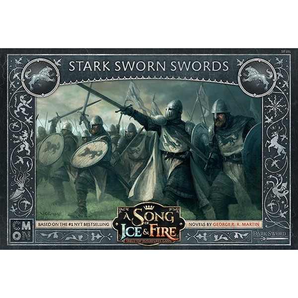 A Song of Ice & Fire: Tabletop Miniatures Game - Stark Sworn Swords Expansion Board Game