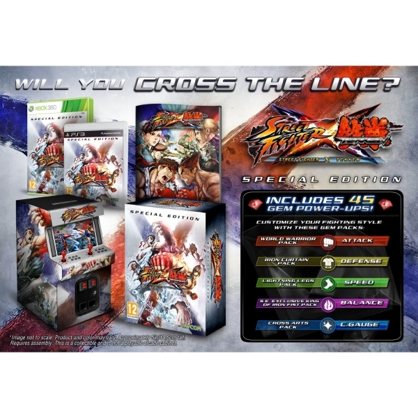 Street Fighter X Tekken Special Edition Game Xbox 360 - Image 2
