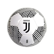 Juventus Crest White Black Ball Lined Size 5