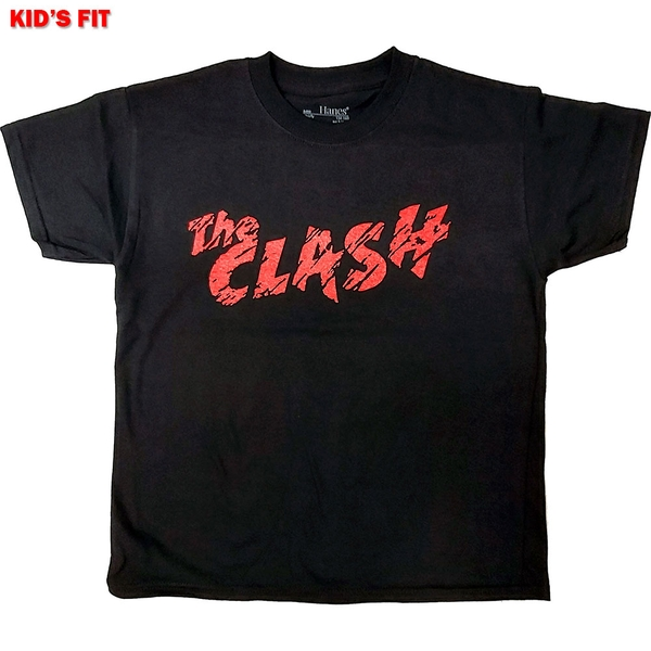 The Clash - Logo Kids 12 - 13 Years T-Shirt - Black