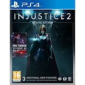 Injustice 2 Deluxe Edition PS4 Game (Darkseid DLC)