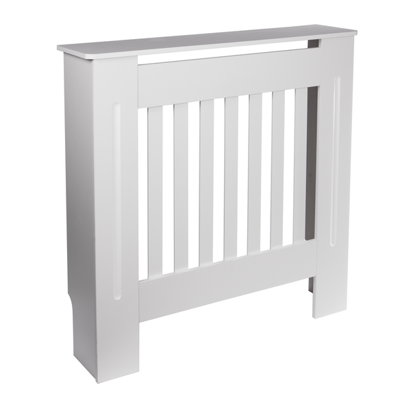 White Wooden Radiator Cover (Small)   M&W