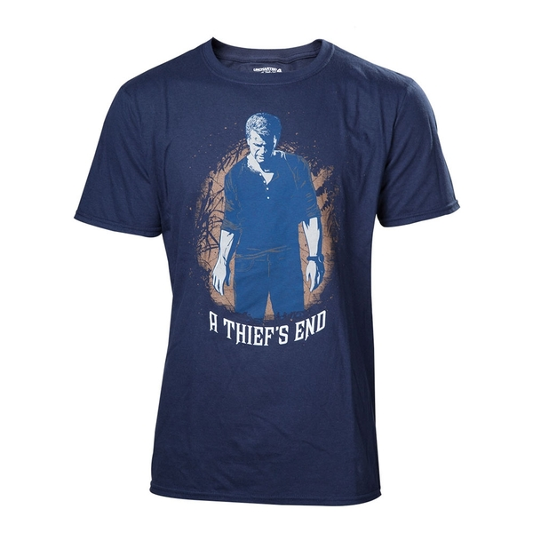 Uncharted 4 A Thief's End Men's Boxcover X-Large T-Shirt
