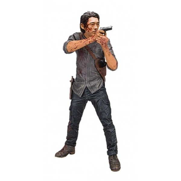 Glenn Bloody Version (Walking Dead TV ) Legacy Edition 10 inch Deluxe Action Figure - Image 1
