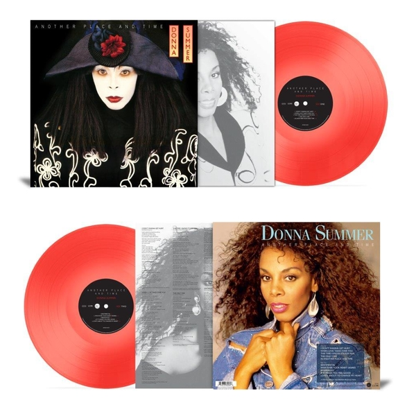 Donna Summer - Another Place And Time Red Vinyl
