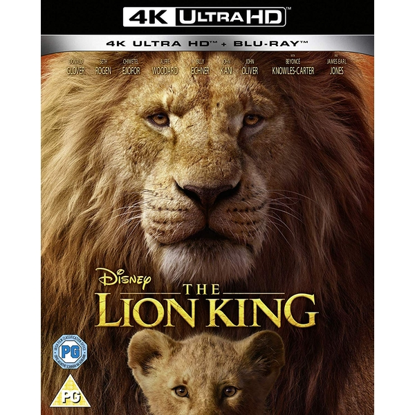 The Lion King (Live Action) 4K UHD + Blu-ray