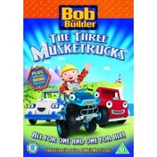 Bob The Builder Three Musketrucks And Other Stories DVD