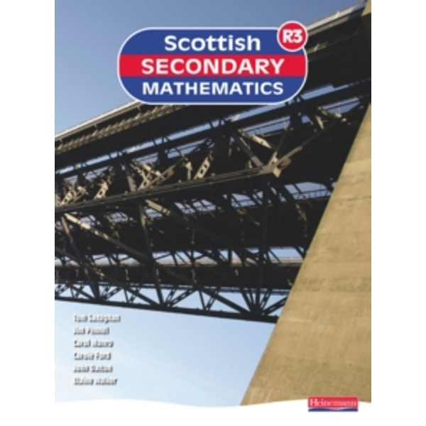 Scottish Secondary Mathematics Red 3 Student Book by Pearson Education Limited (Paperback, 2007)