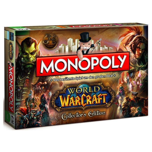 World of Warcraft Monopoly Collector's Edition Board Game