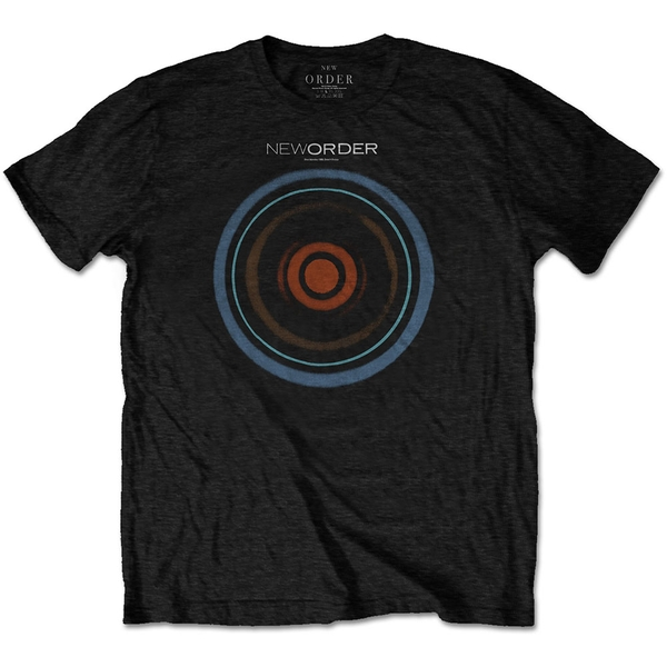 New Order - Blue Monday Men's Large T-Shirt - Black