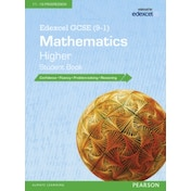 Edexcel GCSE (9-1) Mathematics: Higher Student Book by Pearson Education Limited (Paperback, 2015)