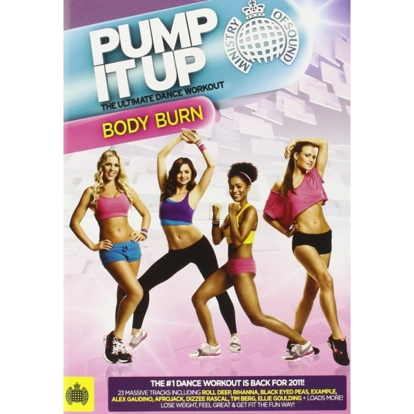 Ministry Of Sound Pump It Up Body Burn DVD