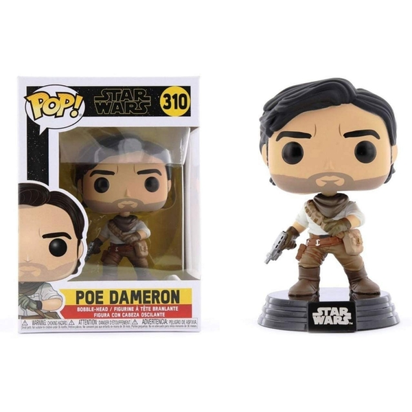Poe Dameron (Star Wars Ep 9) Funko Pop! Vinyl Figure #310