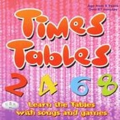 Times Tables: Learn the Tables with Songs and Games by CRS Records (CD-Audio, 2007)
