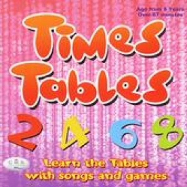 Times Tables Learn the Tables with Songs and Games Audio CD