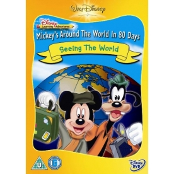 Disney Learning Adventures Mickey's Around The World In 80 Days Seeing The World DVD