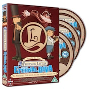 Professor Layton And The Eternal Diva Collectors Edition Blu-Ray   DVD