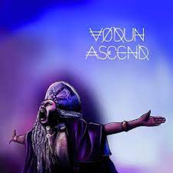 VŌDŪN ‎– Ascend Limited Edition Blue & White Vinyl