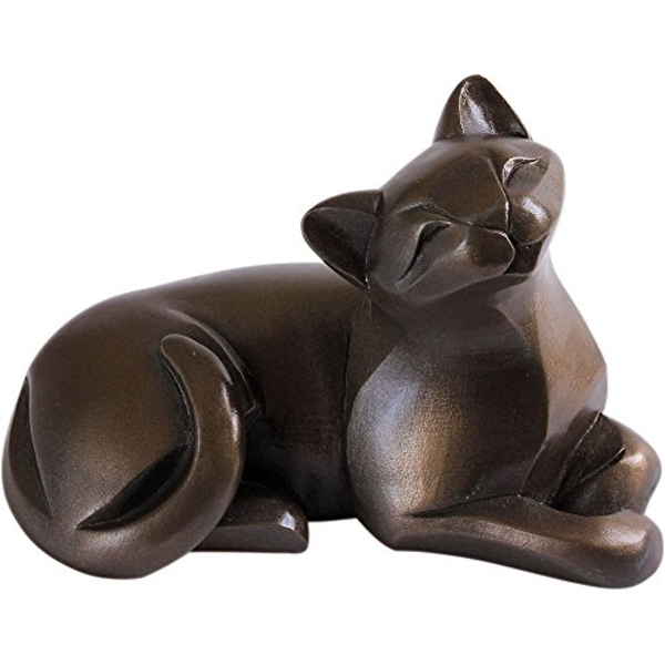 Arora Gallery Collection 8216 Cat Lying Figurine, Multicolour, One Size