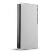LaCie Porsche Design 1 TB USB 3.0 Portable 2.5 inch External Hard Drive for PC and Mac Light Grey