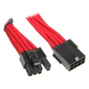 BitFenix Alchemy 6 2-Pin PCIe Extension 45cm - sleeved red/black
