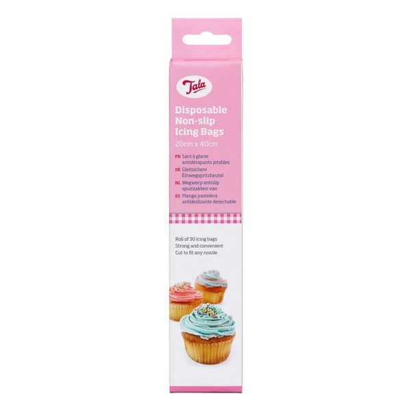 Tala Large Disposable Non Slip Icing Bags 30 Roll