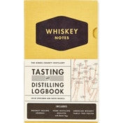 Kings County Distillery: Whiskey Notes : Tasting and Distilling Logbook Hardcover