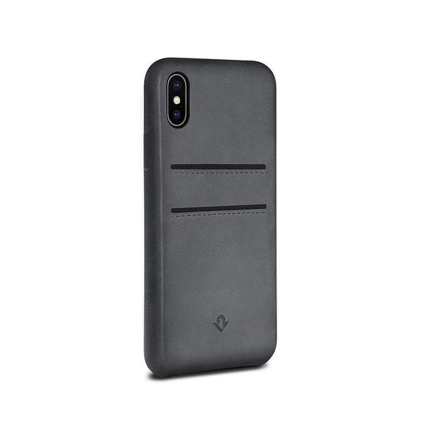 Twelve South Relaxed Leather Case for iPhone X/Xs Grey
