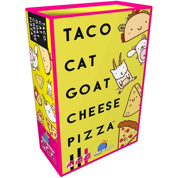 Taco Cat Goat Cheese Pizza Card Game - Image 1